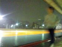 雨の府中市民競技場