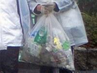 アスリートの拾ったゴミ