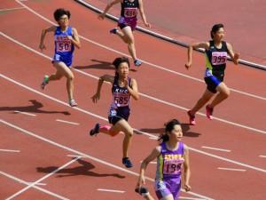 四種競技200m