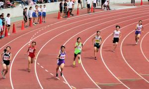 共通女子四種競技200m