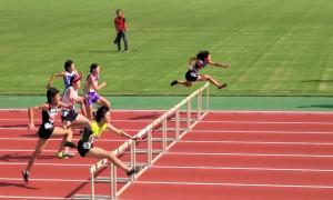 女子共通100mH B決勝