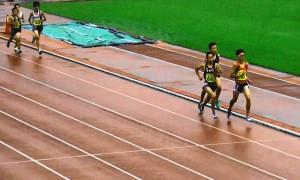 中学2年男子1500m