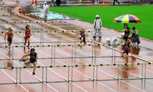 中学1年女子100mH