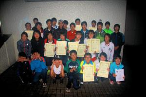 30日の中学生集合写真