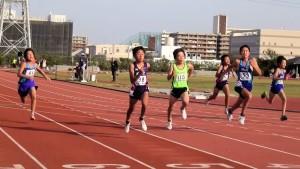 A男子100m決勝