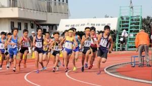男子選考レース