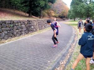 レース形式の練習