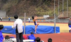 中学女子走高跳