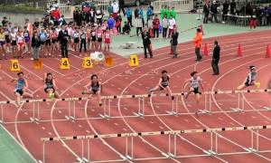 女子100mH