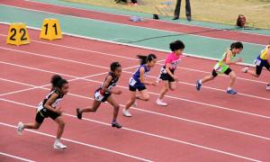 4年女子60m決勝