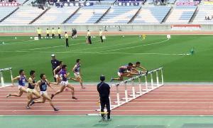 男子2部110mH決勝