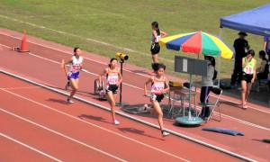 多摩東部共通女子1500m