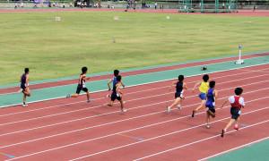 中学男子1年100m