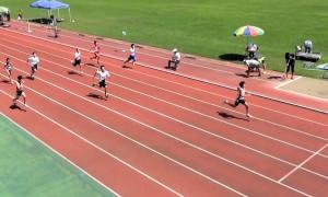 1年男子100m