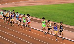中学男子1500m