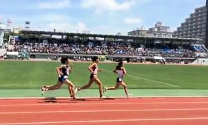 共通女子1500m決勝