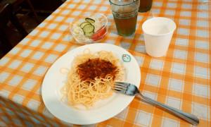 合宿3日目昼食