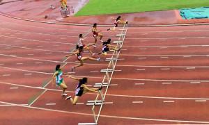 中1女子100mH