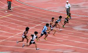町田3・4年生男子100m