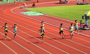 男子中学1年100m
