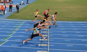 女子1年100mH