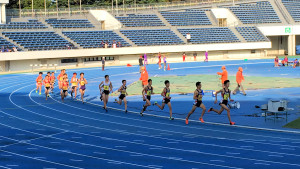 中学男子3000m