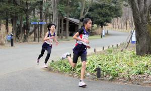 女子3・4年3km