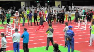 大阪城ホール練習風景