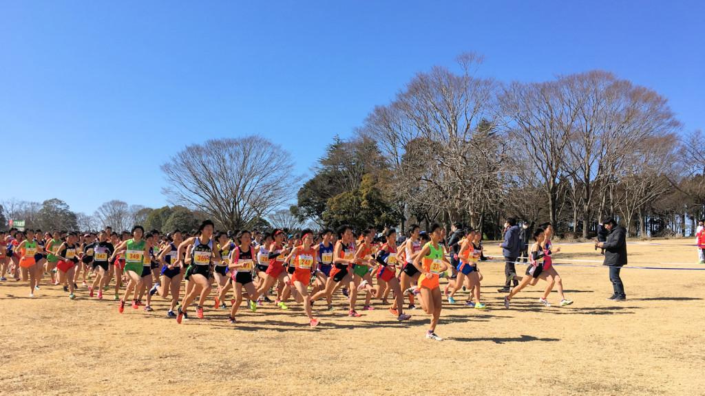 中学生選手権女子スタート