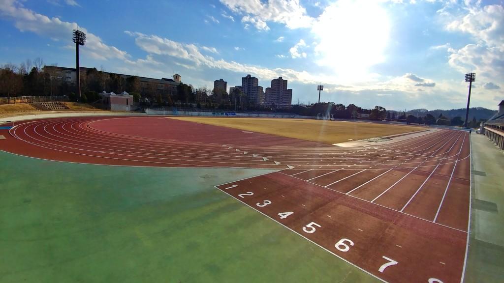 上柚木公園陸上競技場