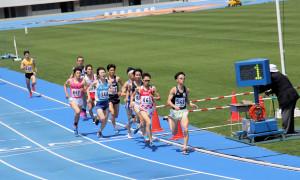 男子1500m予選