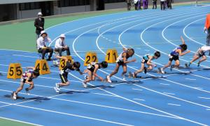 招待小学5年男子100m