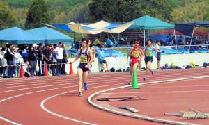 中学男子800m
