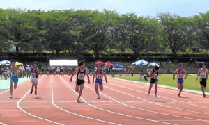 中学2年男子100m