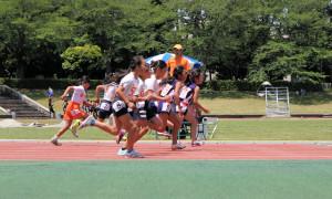 4年女子100m