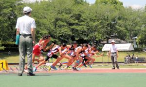 5年女子100m