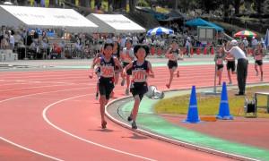 6年女子800m