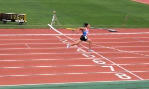 区部西部1年女子100m