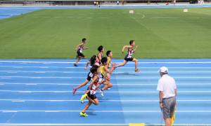 6年男子100m決勝