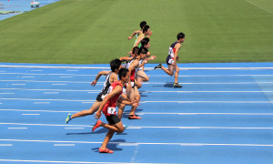 中2男子100m決勝