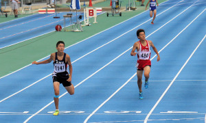 中学男子400m