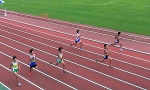 中2男子100m