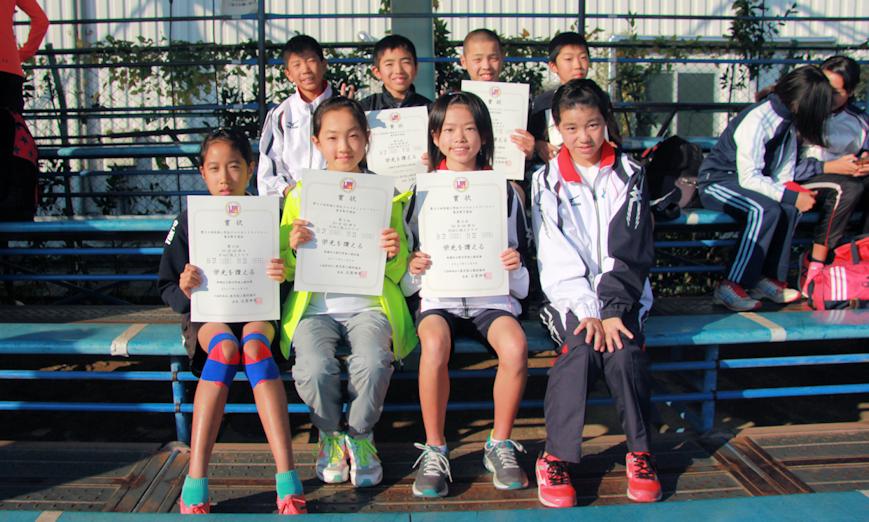 小学生クロカンチーム