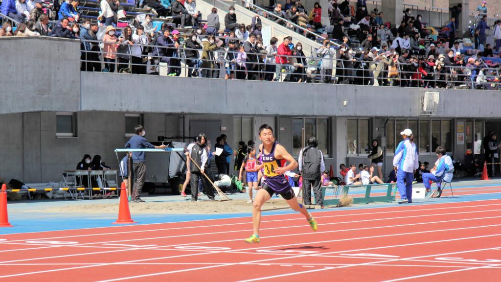 徳久馬400m