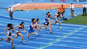 シラファンタ恵理加100m