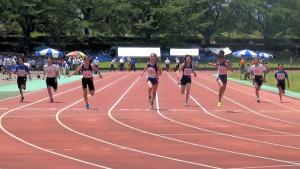 6年女子100m決勝
