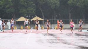 中学2・3年女子100m