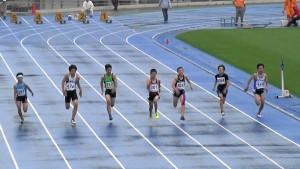 中学1年男子100m
