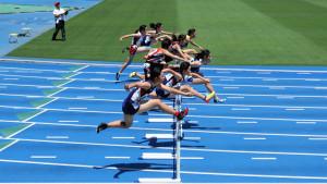 中学女子共通100mH