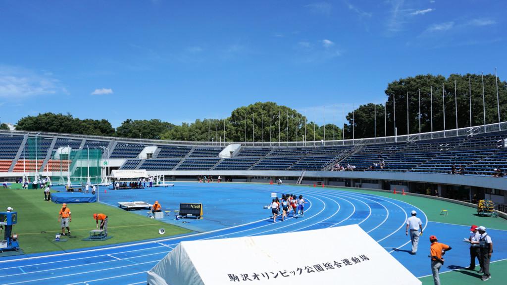 6月30日駒沢オリンピック公園